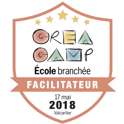 CréaCamp Valcartier mai 2018 – Facilitateur