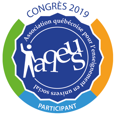 Participant au congrès de l'AQEUS en 2019