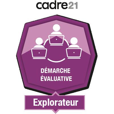 Démarche évaluative en FAD 1 - Explorateur
