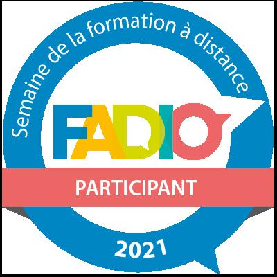 Semaine de la formation à distance 2021 - Participant